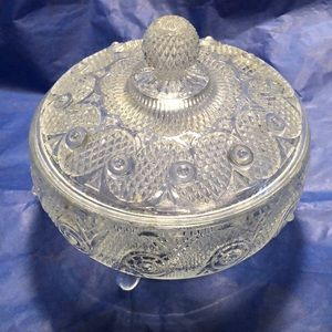 Vintage Avon footed  candy dish